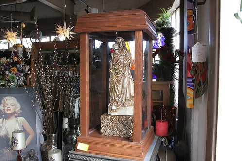 Mother Mary and Holy Child Professionally Encased