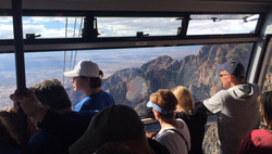 Sandia Tram Inside View