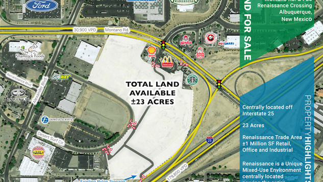23 Acres at Montano & I-25