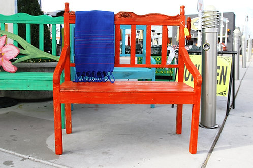 Variety Colored Spanish Style Benches $100 OFF!