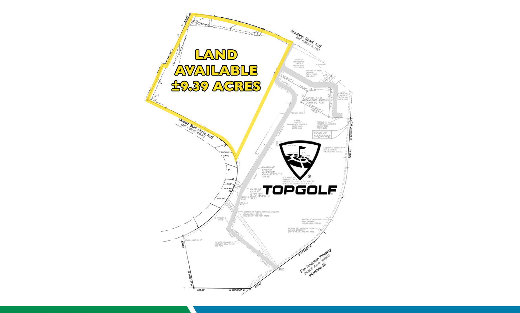 9.39 Acre next to Top Golf Site Plan 2
