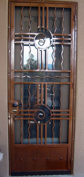 Deluxe Security Door 4