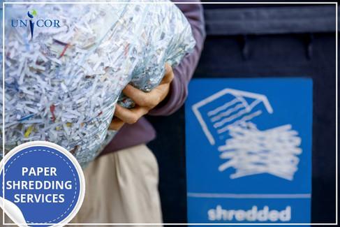 Paper Shredding Services by UNICOR