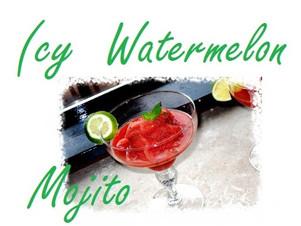 Icy Watermelon Mojito