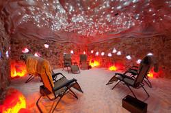 Lighted Salt Cave High Resolution