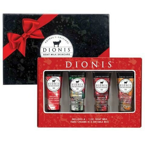 Dionis Goat Milk Holiday Hand Cream 4 pc. Gift Set