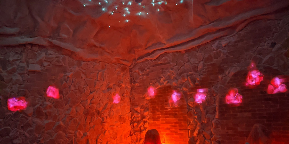Yoga in the Salt Cave