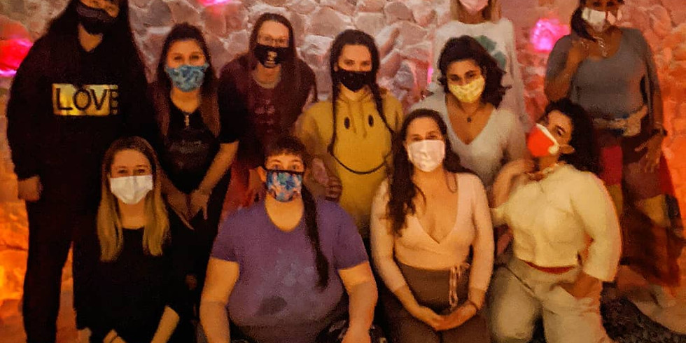 International Women's Day in the Salt Cave
