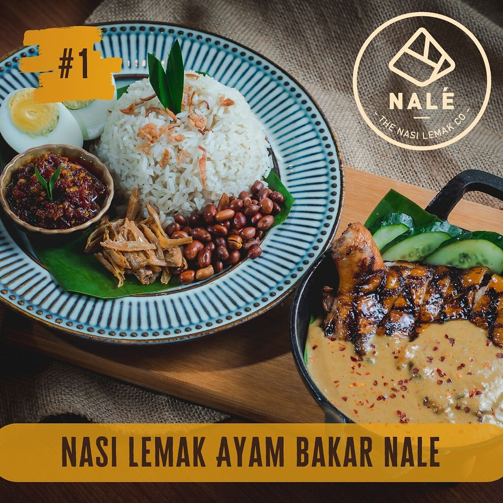 Nasi Lemak Ayam Bakar NALE