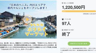 『日本のベニス』内川エリアで屋内マルシェをオープンします!』