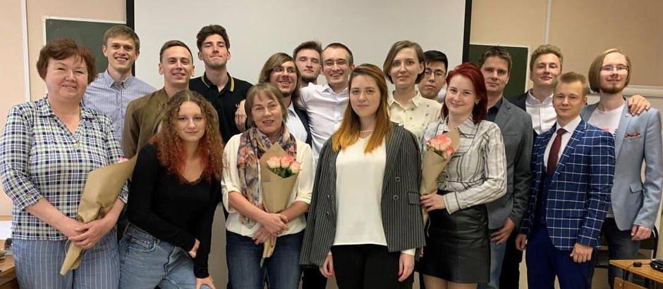 Студенты TERCOM успешно защитили выпускные работы