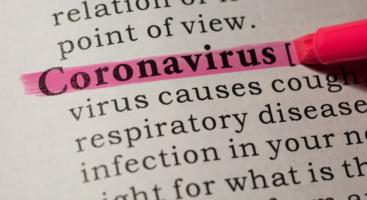 New language for Coronavirus