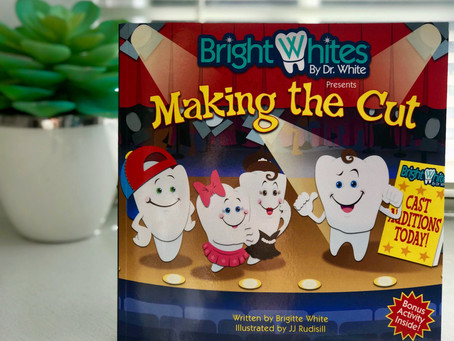 Making the Cut | Presenting My Oral Care Children's Book to Penn Dental