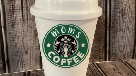 Starbucks Inspired Coffee Mug