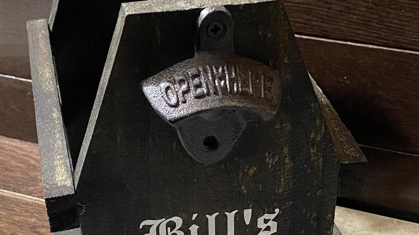 Rustic Bottle Caddy