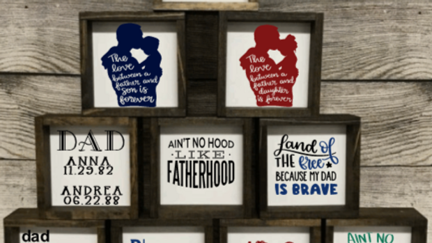Signs for Dad