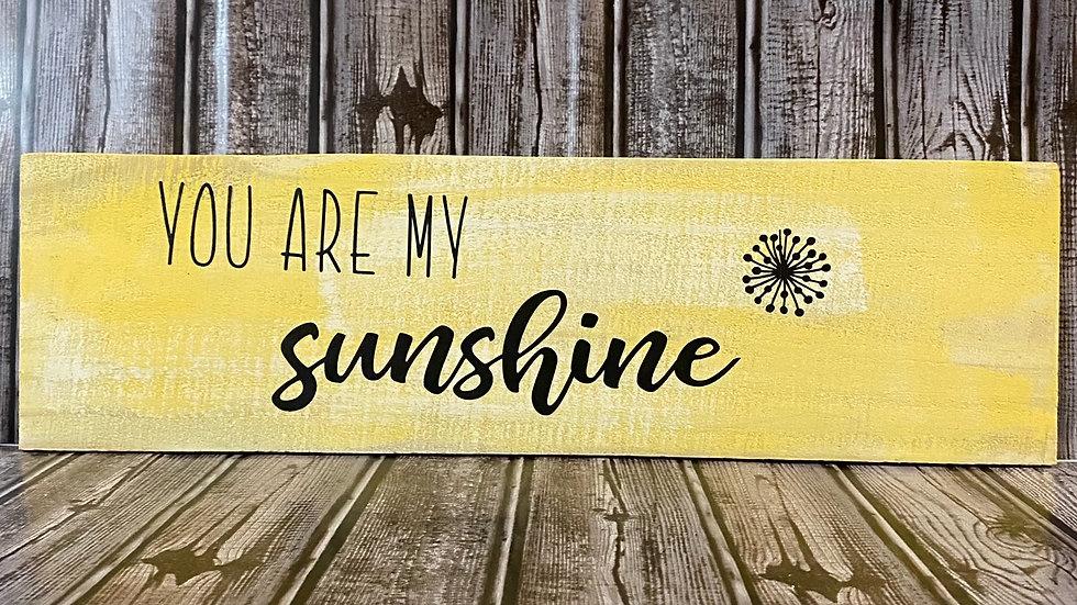 Sunshine Wall Sign