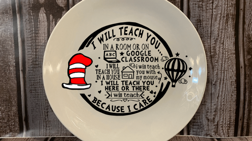Teacher Appreciation Serving Plate
