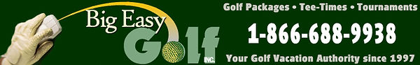 New Orleans Golf Information
