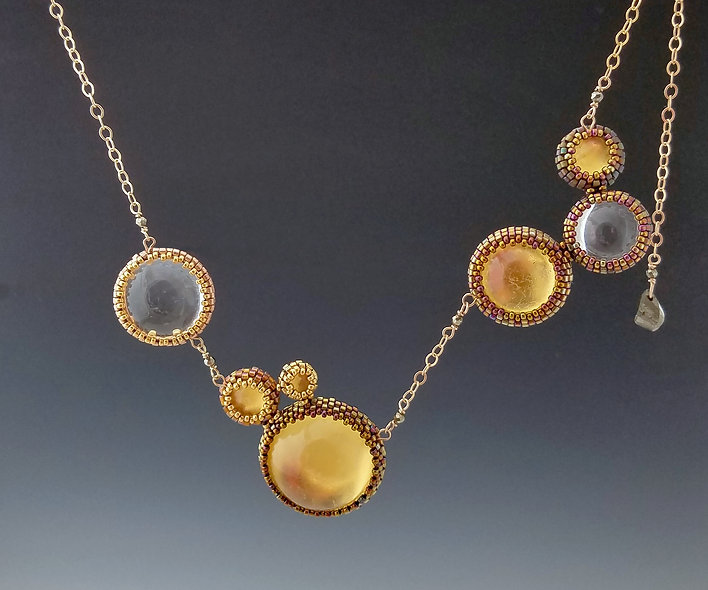 Bronze Age Halo Necklace