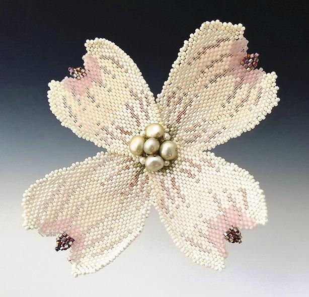 Dogwood Blossom Brooch