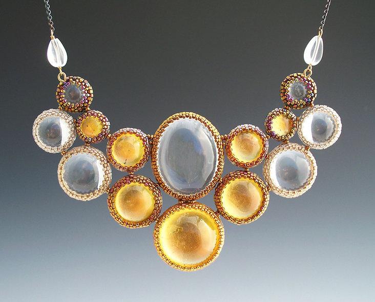Halo Arabesque Necklace