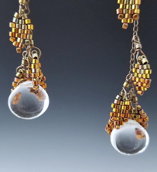 Goldleaf Long Drops