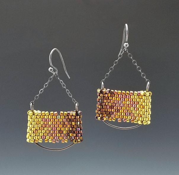Citrongold 21c Bar Earrings