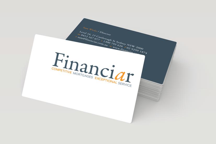 Financiar – Business Cards