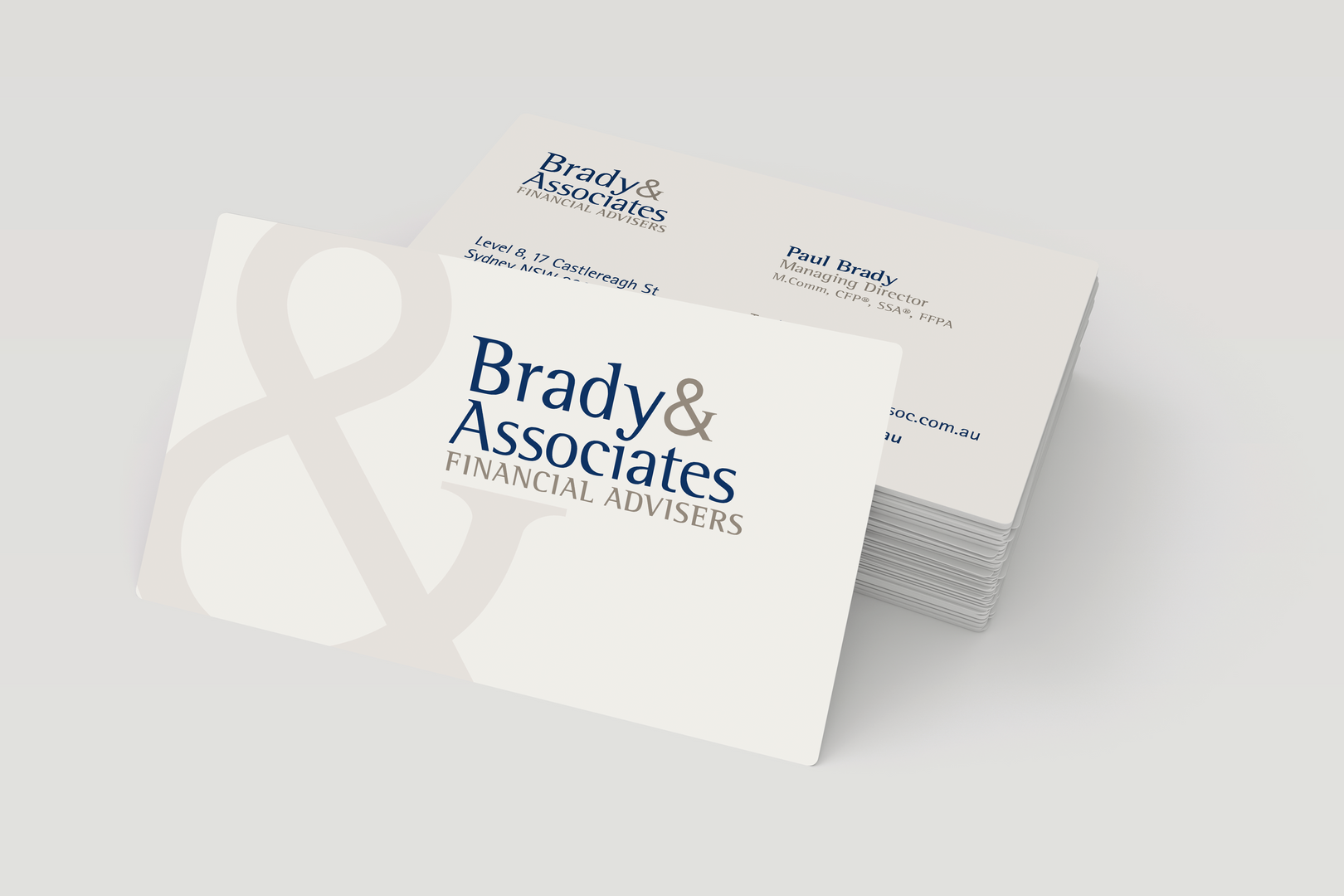 Brady & Associates – Business Cards