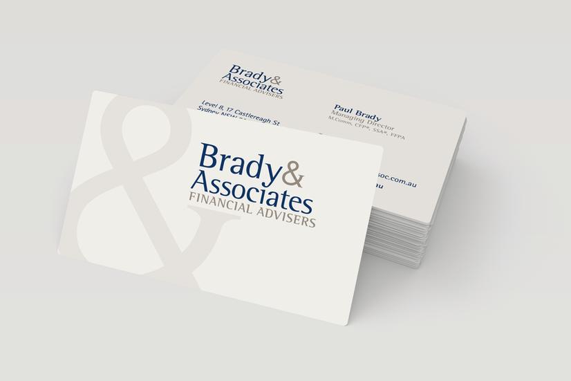 Brady & Associates – Business Cards