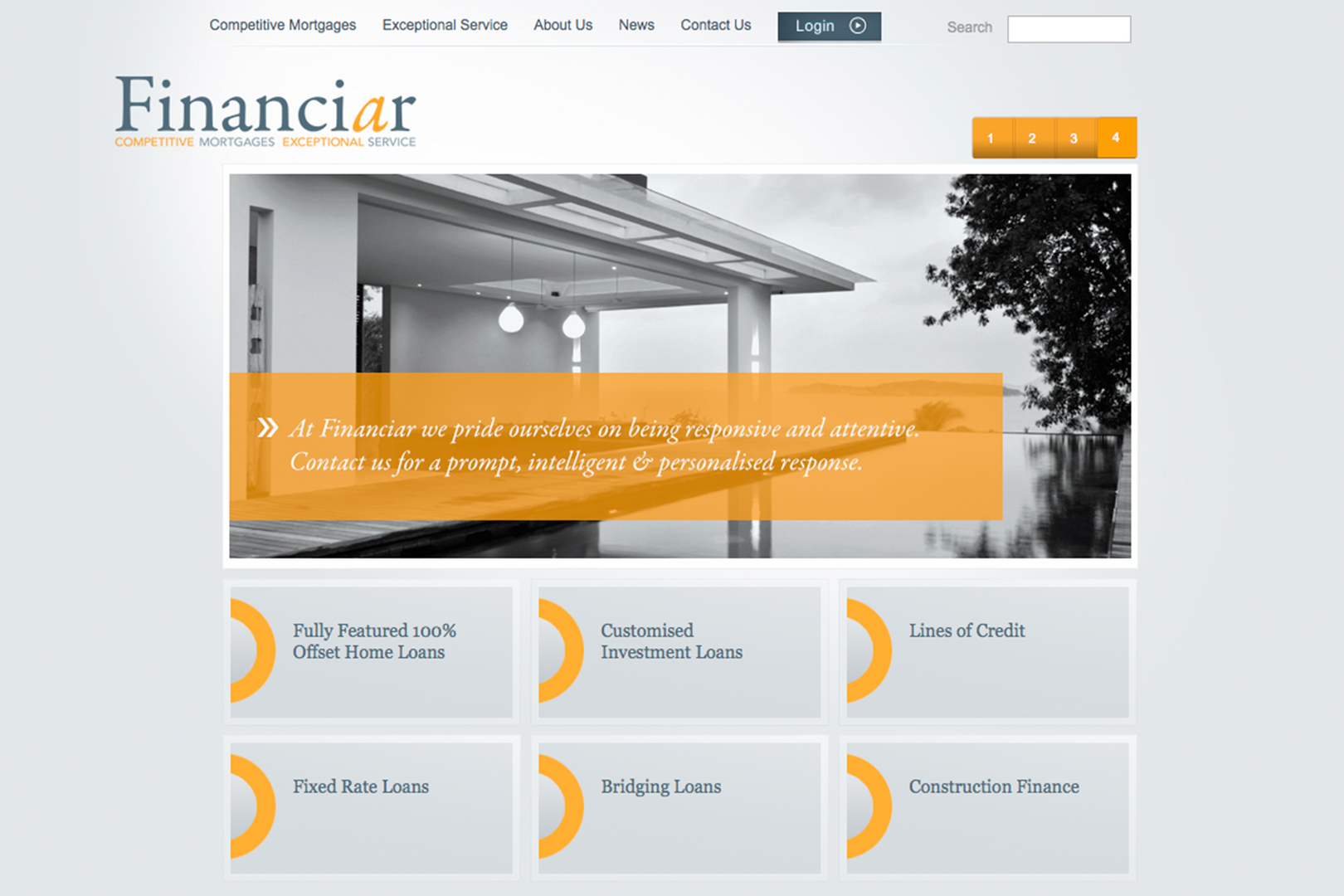 Financiar – Web Page