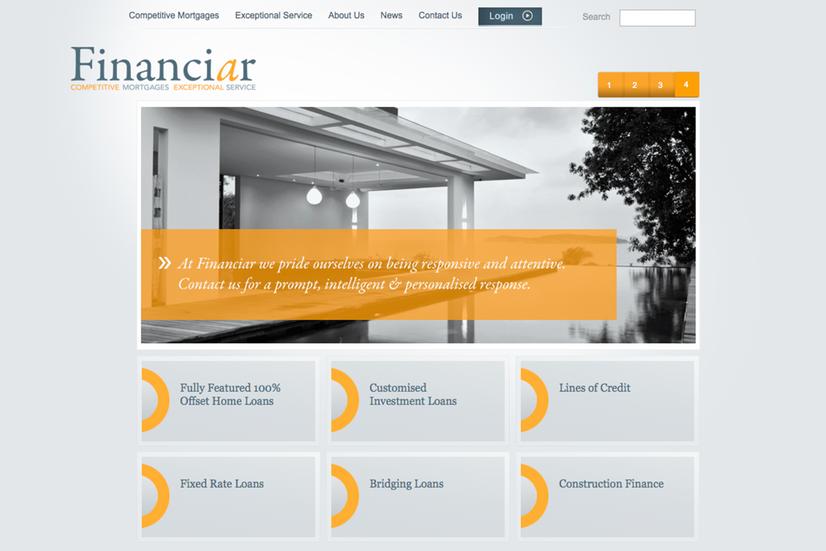 Financiar – Web Page