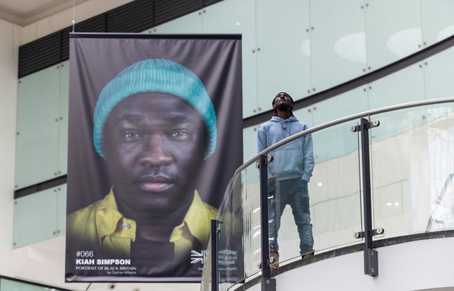 Cephas Williams with Portrait of Black Britain. Photo Fabio De Paola PA Wire (4).JPG