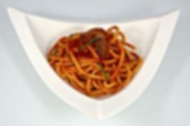 Bucatini tomato sauce