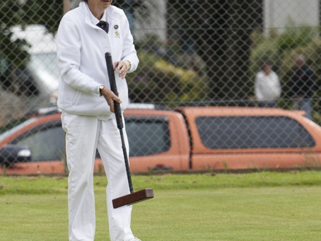 Sidmouth Short Croquet Competition to Be Decided Another Day!