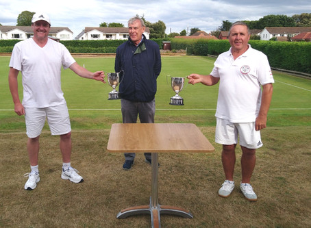 Sidmouth Players excel in the English National Golf Croquet Doubles Championship