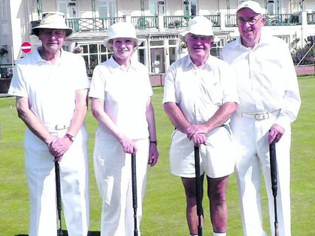 Gof Handicap Finals / Open Golf Croquet Doubles / All pristine at Sidmouth / The Selectors Cup