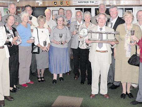 Sidmouth Croquet Club AGM and Awards
