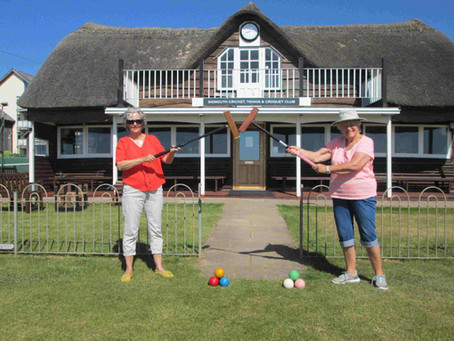 Sidmouth Croquet Club See Members Return To Lawns As Lockdown Restrictions Lifted