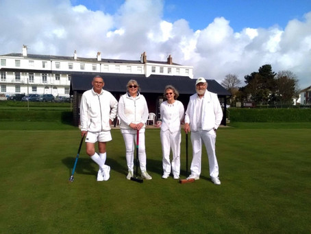 Sidmouth Croquet Club Holding 'Taster Session' this Saturday (April 8)