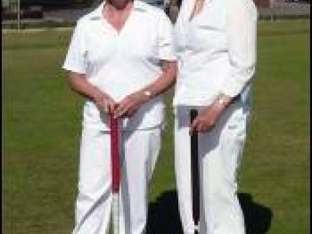 Sidmouth's New Croquet Players Start to Compete and The Clarkes Play in the National Veterans