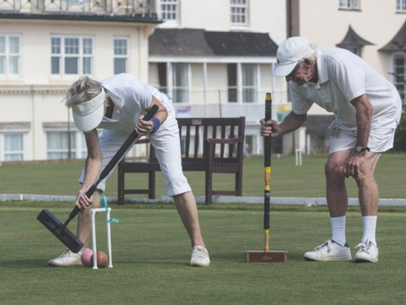Sidmouth Edged Out by Strong East Dorset Side in SWF Golf Croquet League encounter