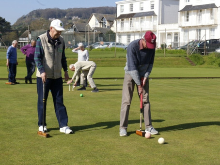 Sidmouth Croquet Club Enjoy Terrific Response to Taster Day