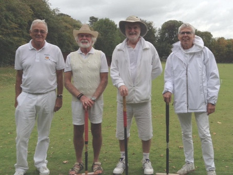 Sidmouth Croquet Club Wins the South West 'B' League