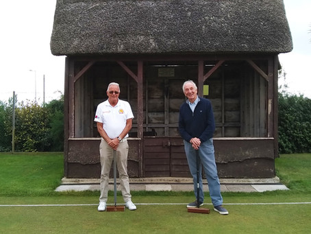 Duncan Hasell wins Sidmouth Croquet Club's High Handicap Association Croquet Competition