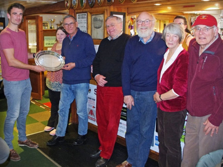 Sidmouth Croquet  Club Team 'The Misfits' Win the Annual Fund Raising for Charity Salver