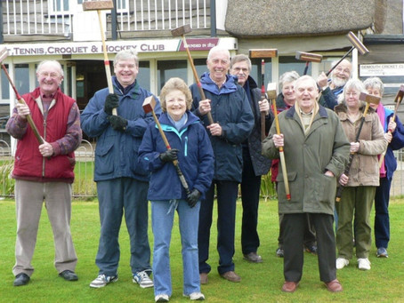 Sidmouth Croquet Club's Open Morning a great success