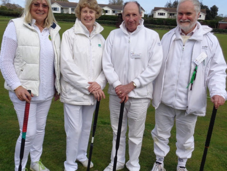 Sidmouth's Dent Third in Budleigh Croquet Competition