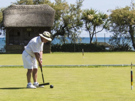 Sidmouth Croquet - Corbett Spoons success for Richard Thurlow